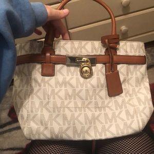 Medium sized Michael kors tote bag